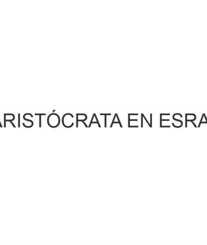 El Aristócrata en EsRadio