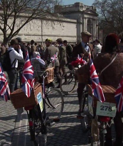 Tweed Run. London